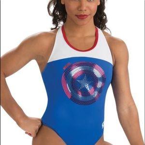 GK Elite Gymnastics Dance Swimsuit Leotard
